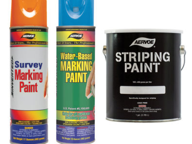 Utility Line Marking and Striping Paint